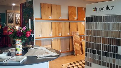 Showroom de Angers - Sols Moduleo