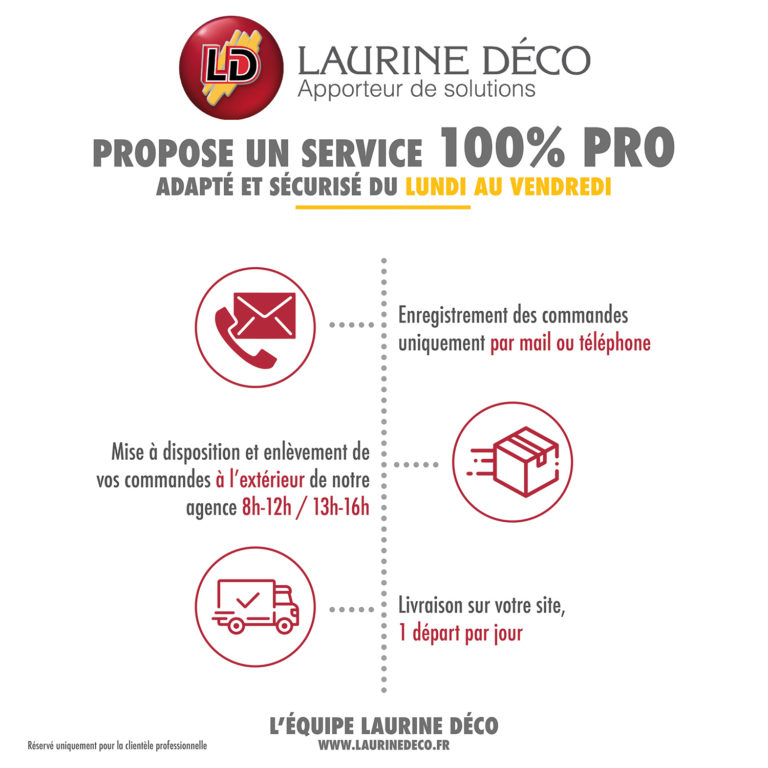 Service Drive Pros - Laurine déco
